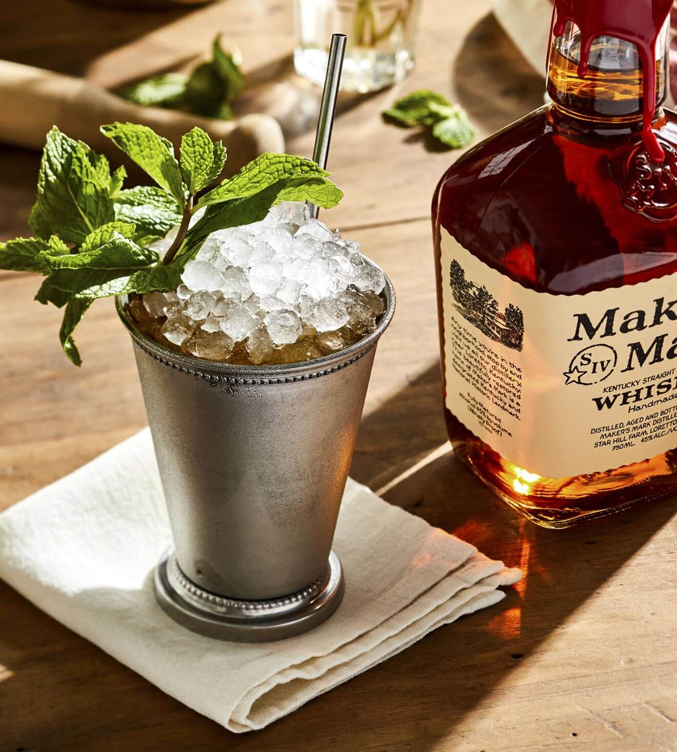 Mint Julep, makers mark bottle