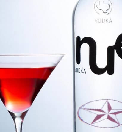 NUE Grapefruit Cosmo Spritz Martini, featured image