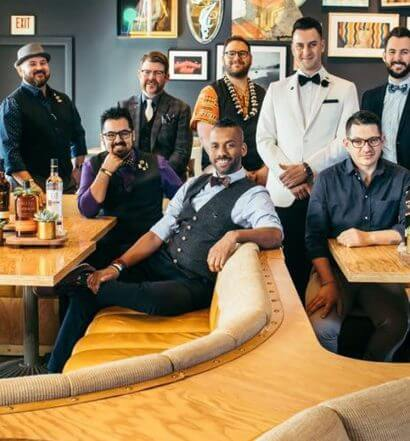 group of mixologist in lounge area, featured image