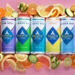 Regatta Craft Mixers, can varieties with fruit, pink background, featured image