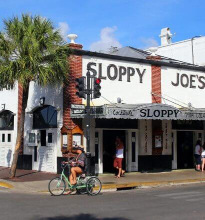 Sloppy Joe's, outdoor view, patrons enjoying, featured image