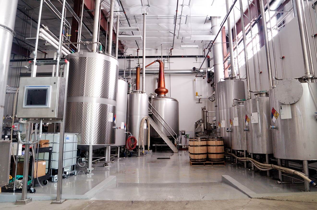 Westward Whiskey Distillery Stills