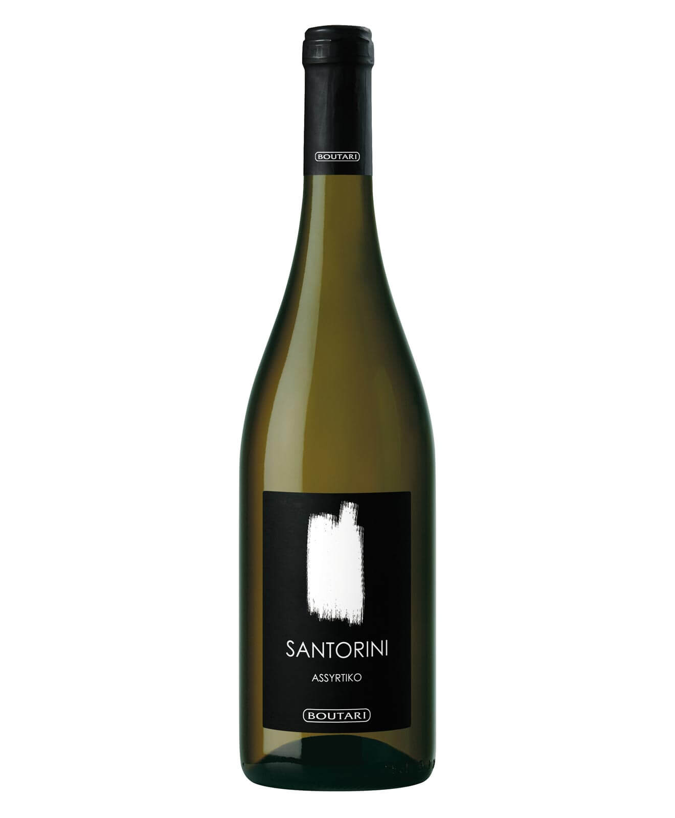 2017 Santorini Boutari, bottle on white