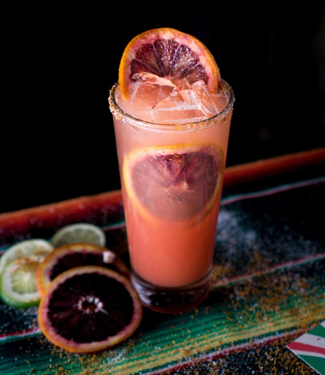 Blood Orange Paloma