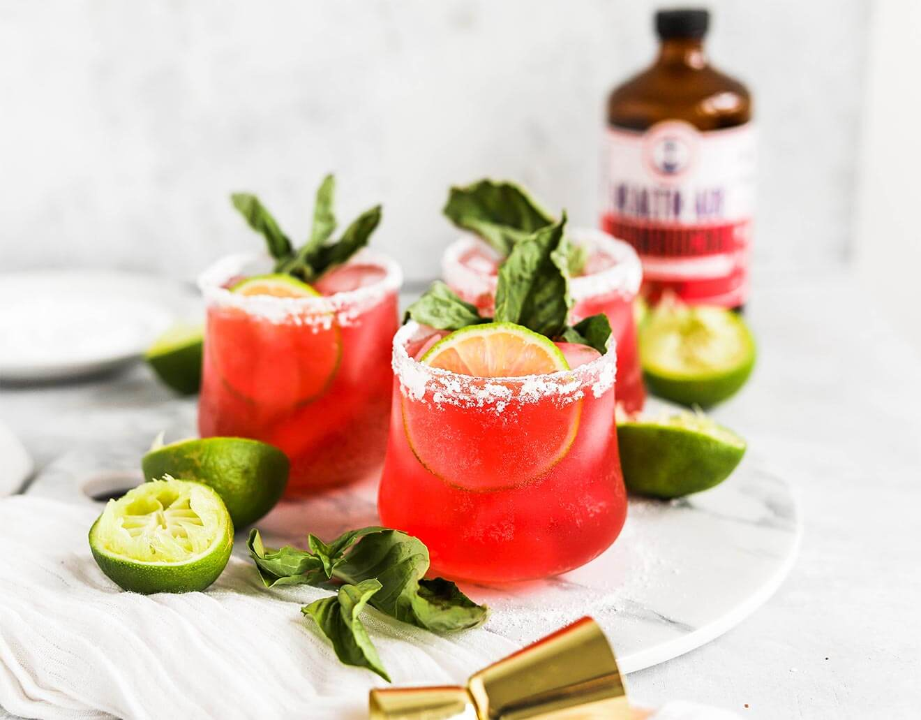 Health-Ade Cherry Berry Lime Margarita Punch
