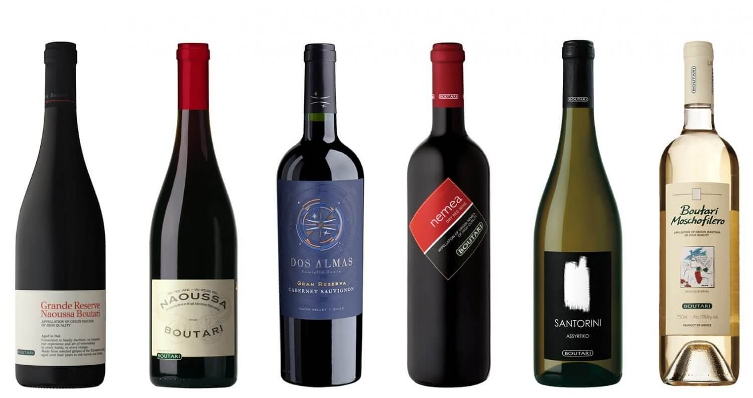 6 Wines by the Glass, bottles on white, featured image