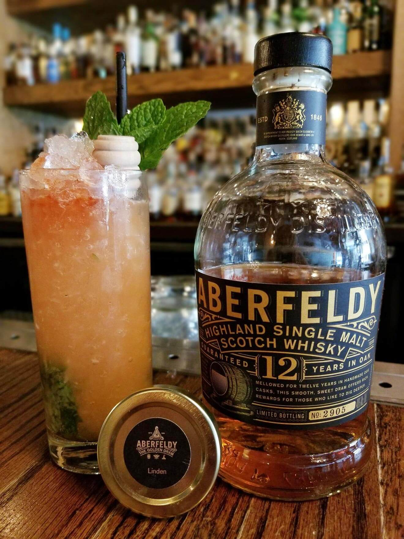 American-Whiskey Aberfeldy Mint Honey