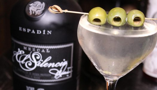 El Silencio's Dirty Mezcal Martini is a Must-Try Cocktail
