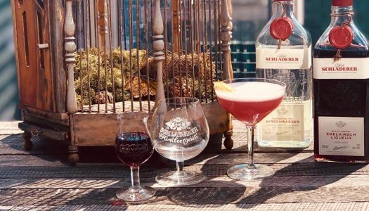 Drink of the Week: Under a Cherry Moon with Schladerer Brandy
