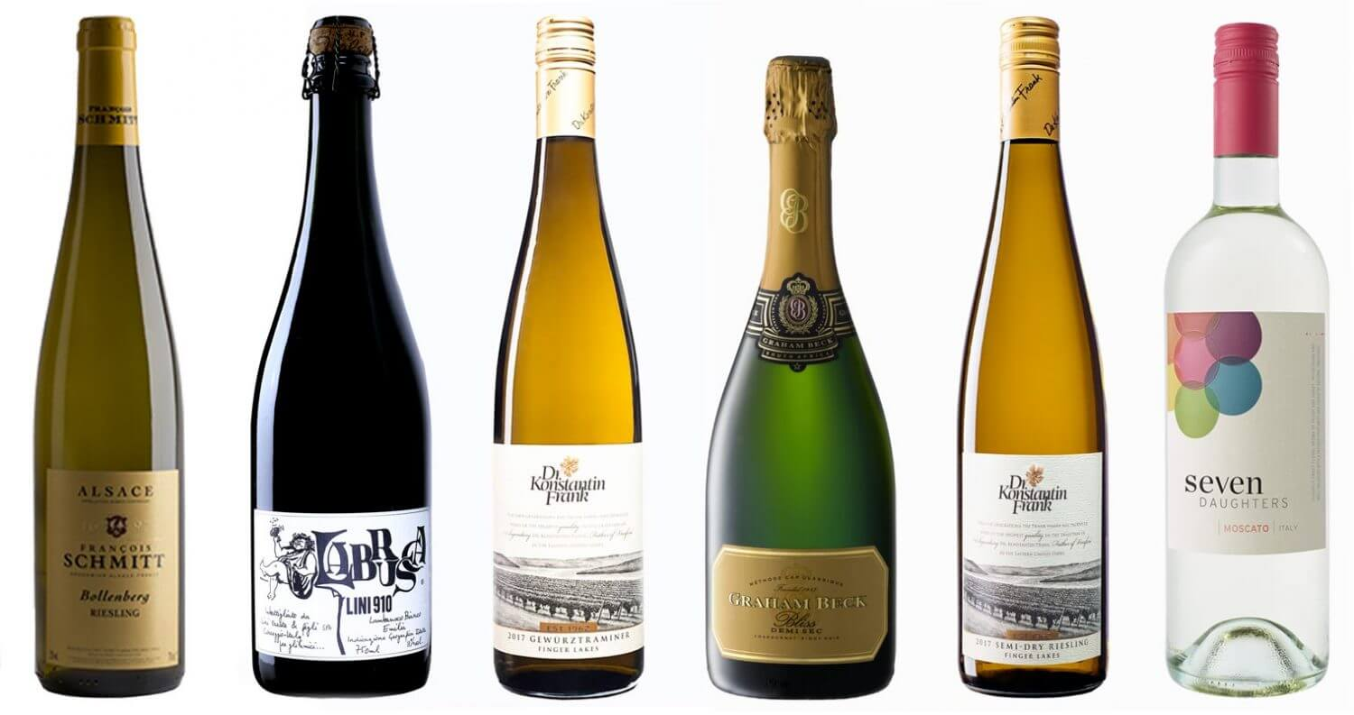 6 Wines by the Glass to Serve at an Indian Restaurant, bottle on white, featured image