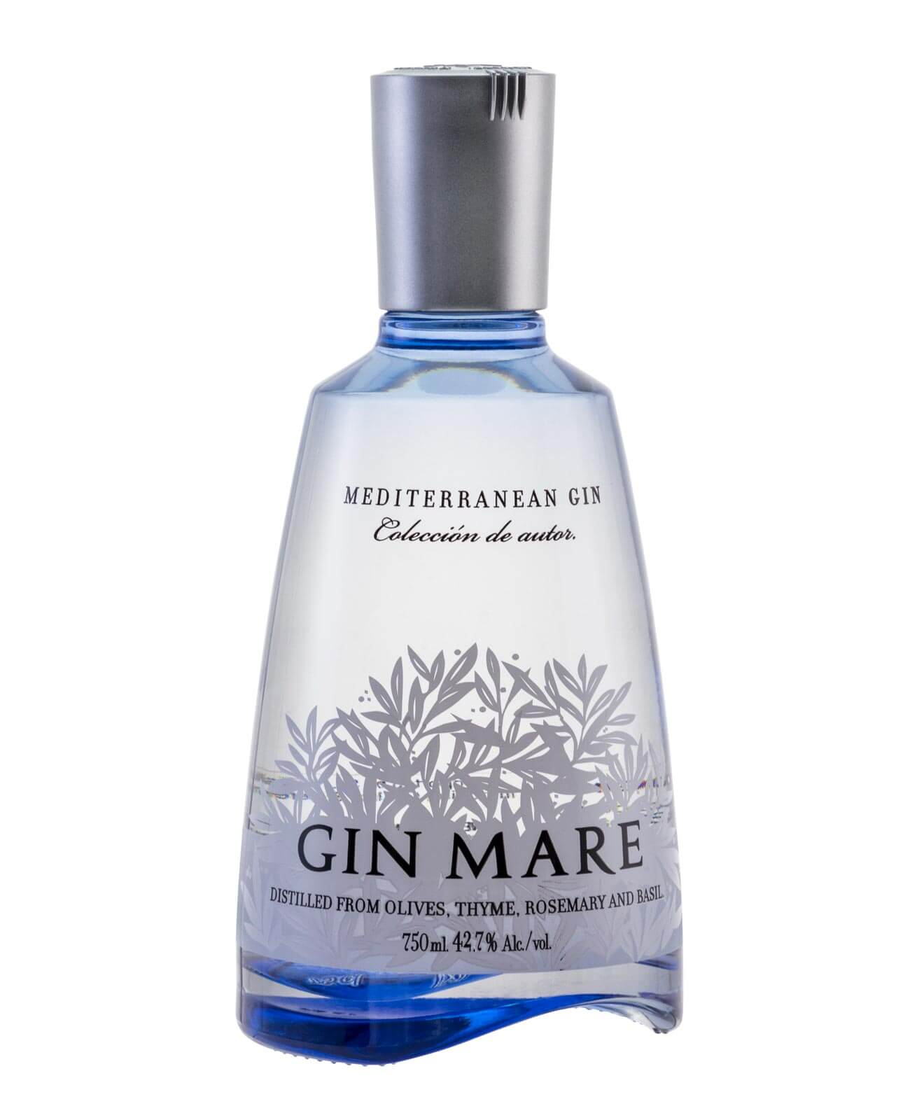 Gin Mare, bottle on white
