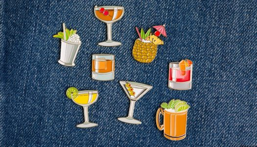 How 2 Enamel Pin Companies are Becoming Status Symbols in the Cocktail World