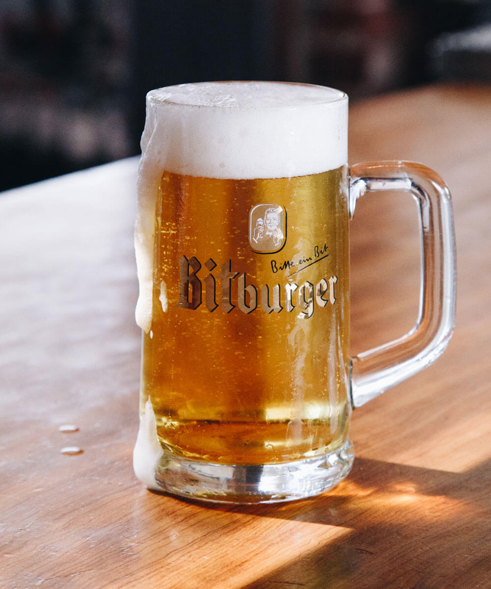 Bitburger on Tap