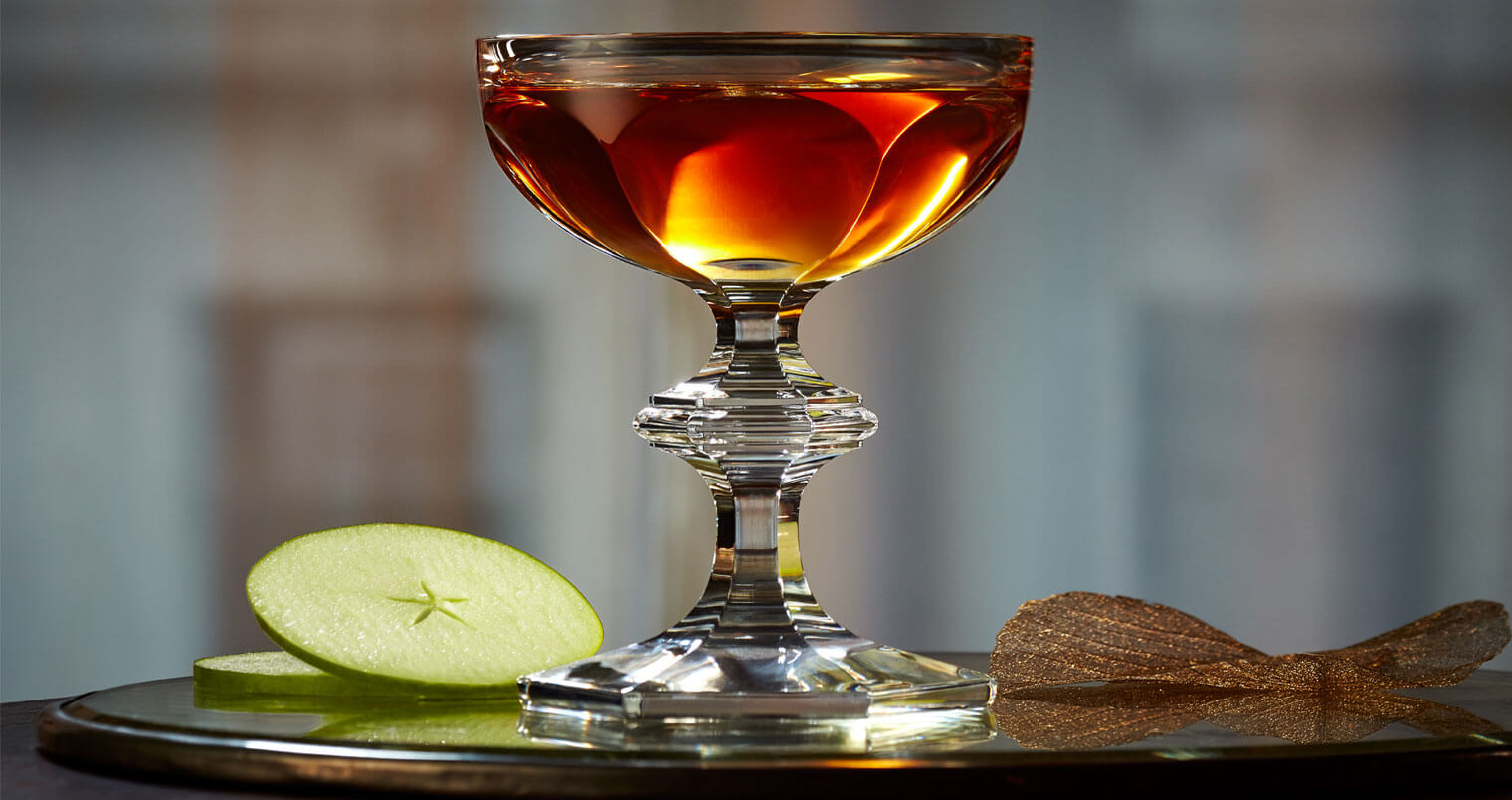 Star of Autumn, cocktail in ornate challise, featured image