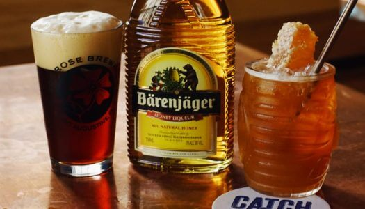 Drink of the Week: The Golden Rose with Bärenjäger Honey Liqueur
