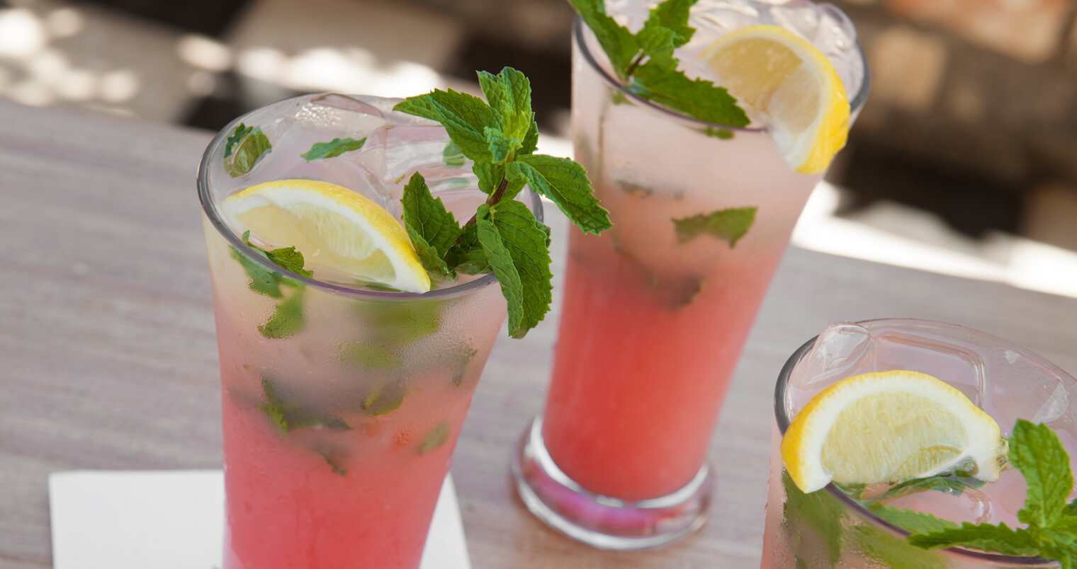 Watermelon Mint Lemonade, cocktails, featured image