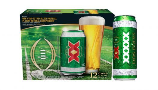 Dos Equis is Sending Lucky College Football Fans to the National Championship Game