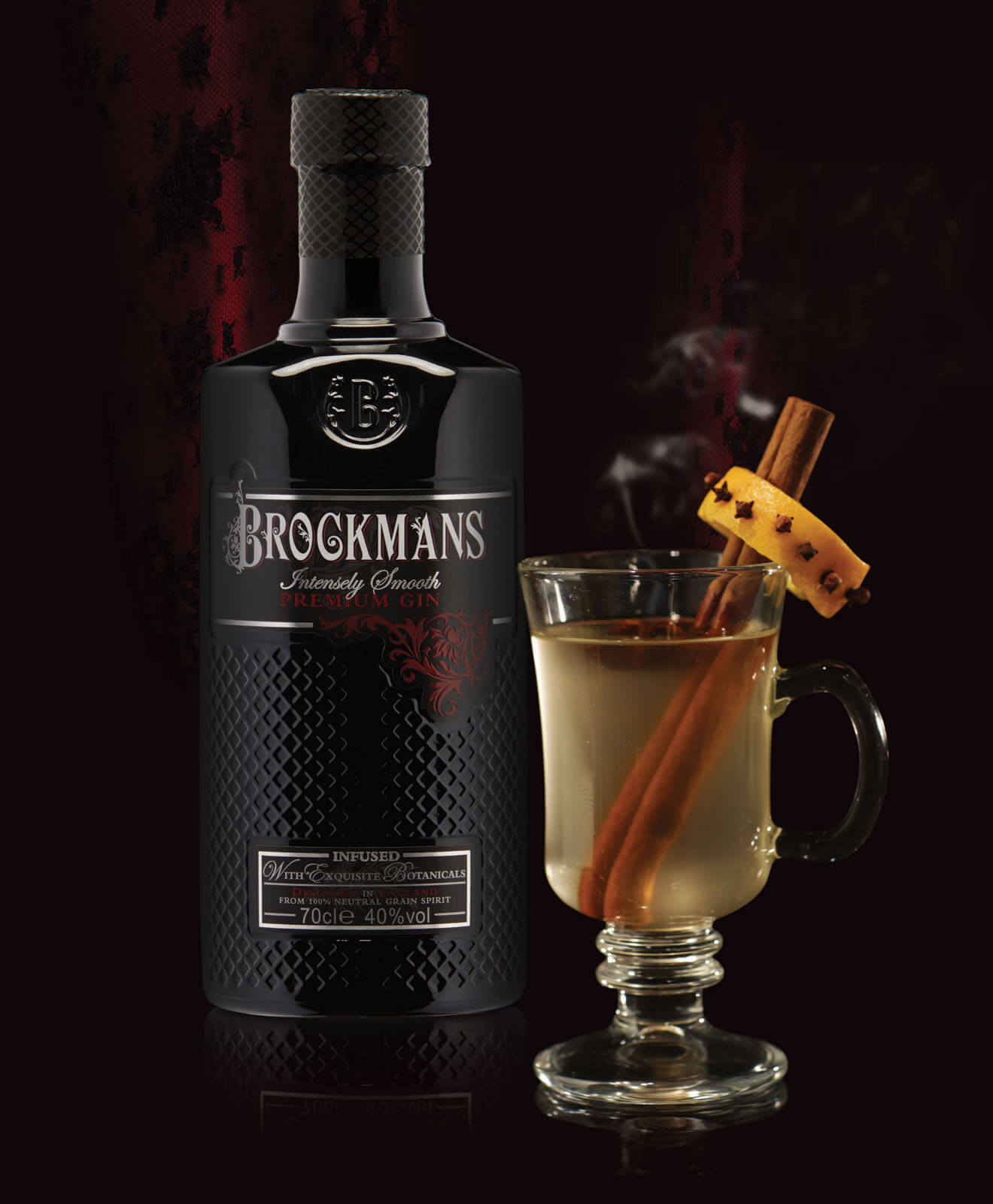 Brockmans Hot Ginger Toddy