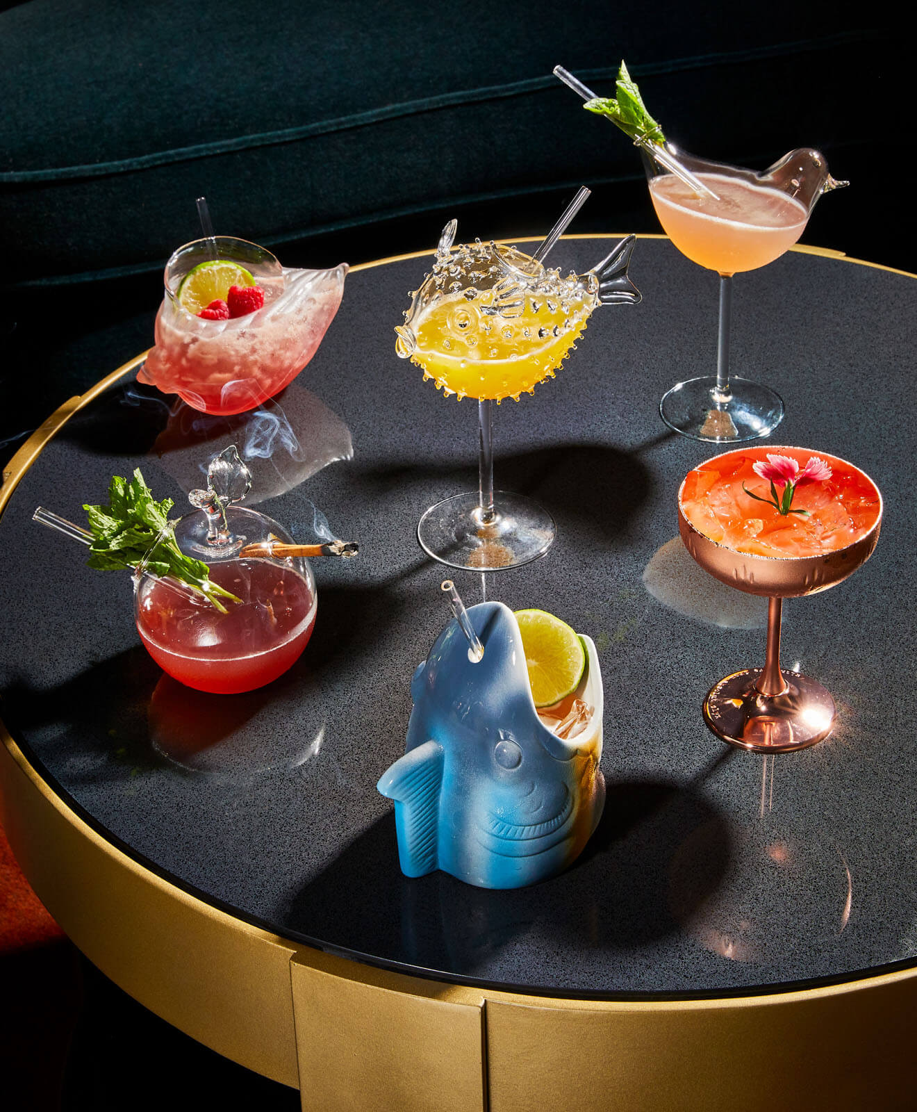 Cocktails at Level One