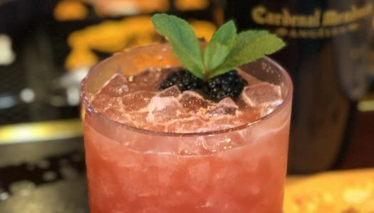 This Refreshing Blackberry Cocktail is Cardenal's Golden Week Competition Winner