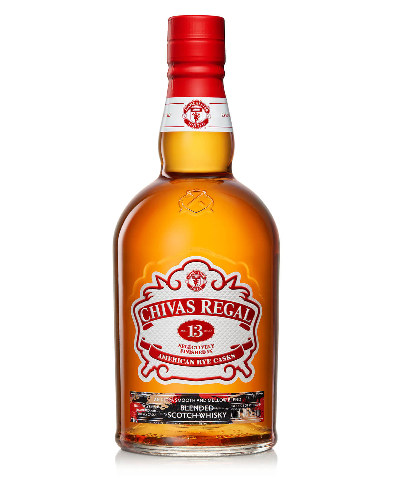 Chivas Regal 13 Manchester United Special Edition