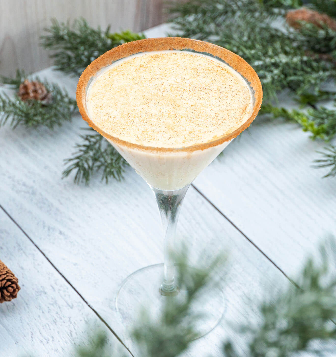 The Nog Martini