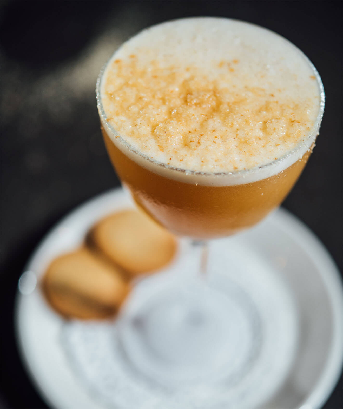 Tea & Biscuits, cocktail with biscuits