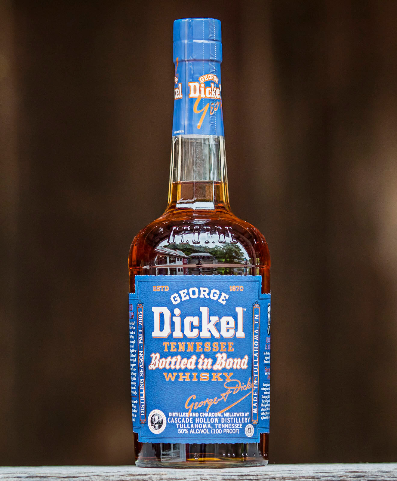 George Dickel 13 Year Old Bottled in Bond
