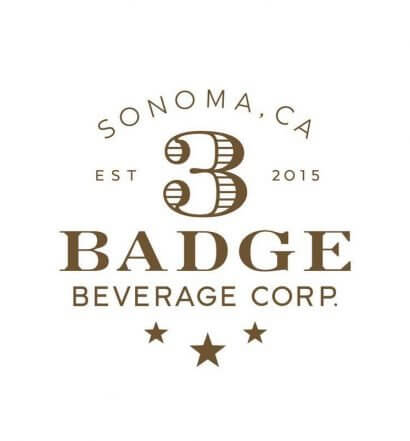 3 Badge Beverage Corporation, logo on white, featured image