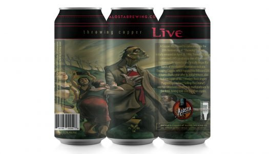 On Tap: American Rock Band LIVE Releases Copper Ale