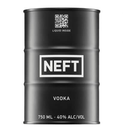 NEFT Vodka, black barrel, featured image