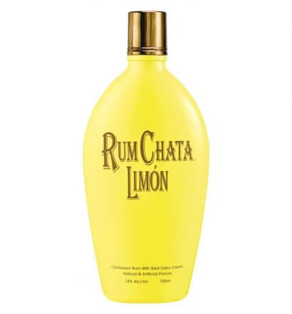 RumChata Limón, bottle on white, featured image
