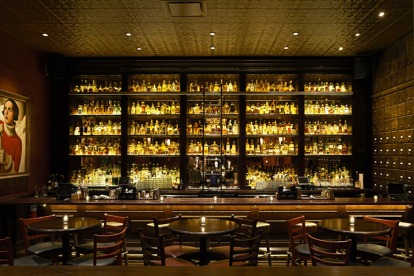 Untitled American Whiskey Library Bar