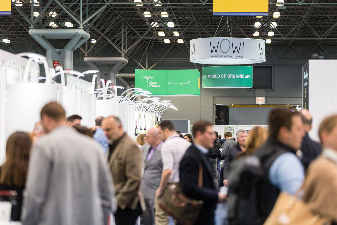 WOW! Pavilion and Attendees – Vinexpo New York 2019