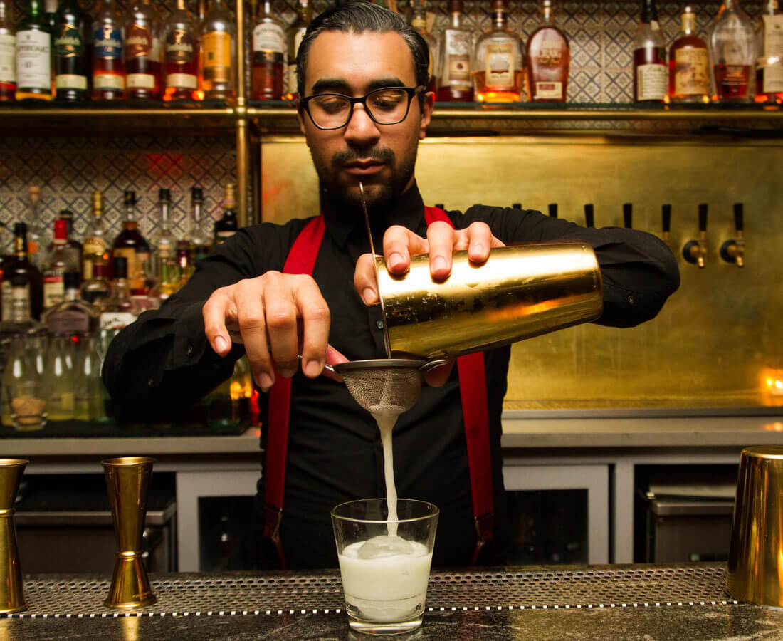 Wilmer Nolasco, Head Bartender at Ivy Lane