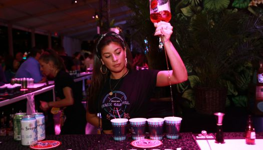 Life's a Carnival: Bacardi Creates a Fun House on the Sands of Miami Beach for SOBEWFF
