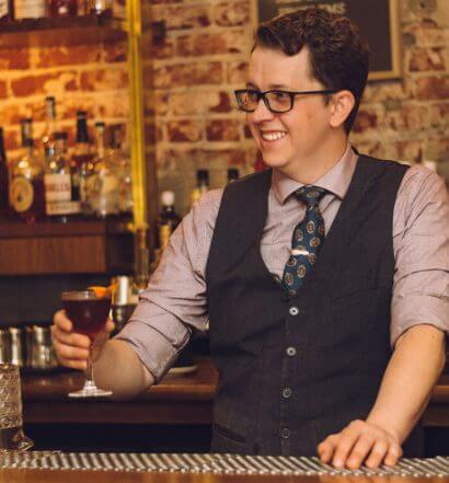 Jake Larowe, Bartender at Birds & Bees, featured image