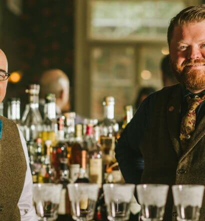 Jewel of the South Co-Owners (L-R) Chris Hannah and Nick Detrich
