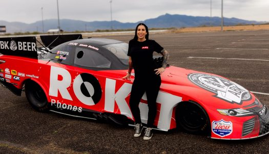 On Tap: Alexis DeJoria Revs Up Her Return To Racing, Sponsored by ABK Beer and ROKiT Phones