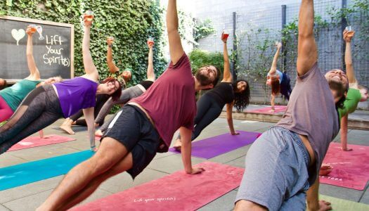 Drunk Yoga: Gimmick or Good For You?