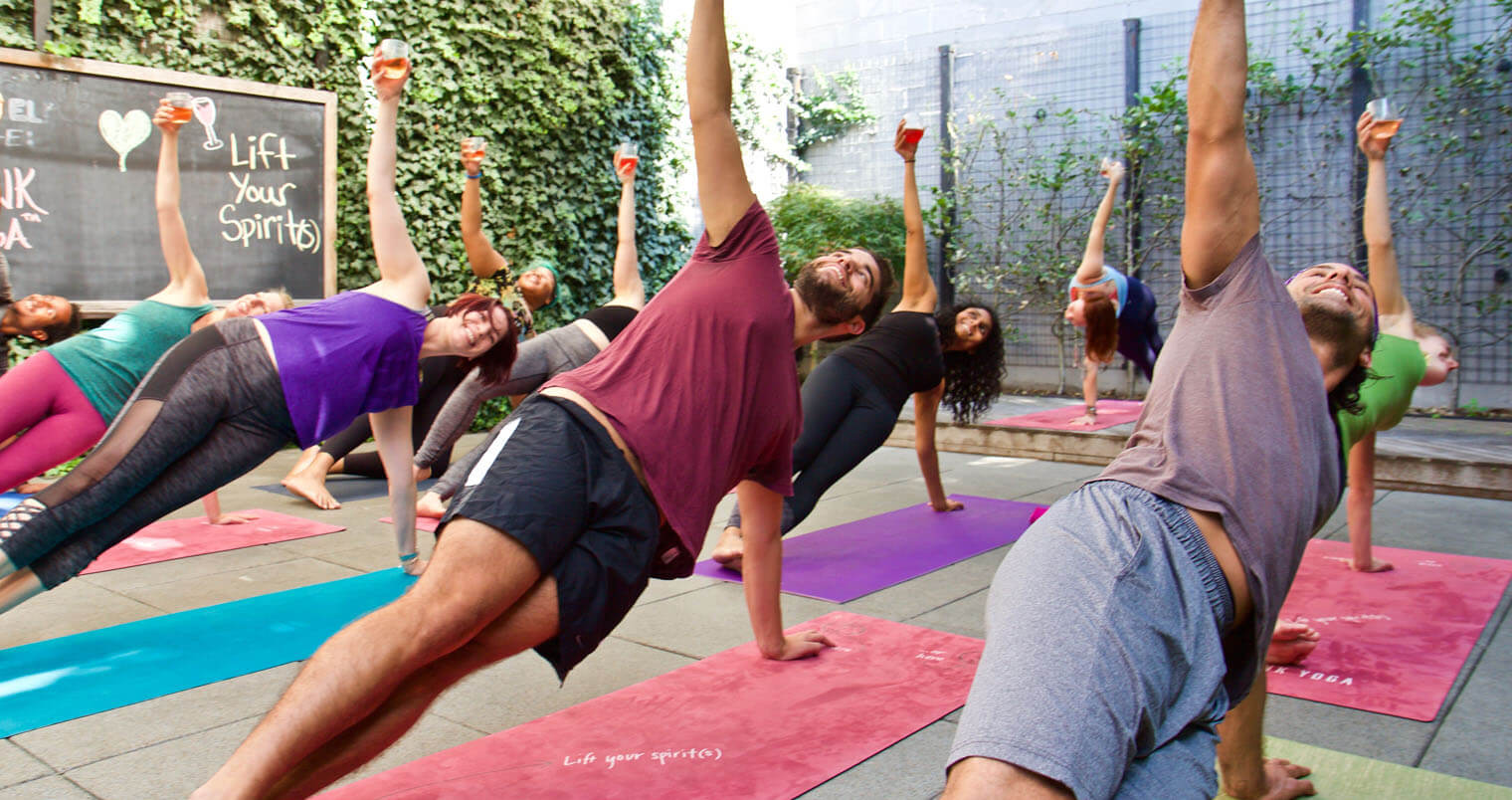 Drunk Yoga Class, featured image