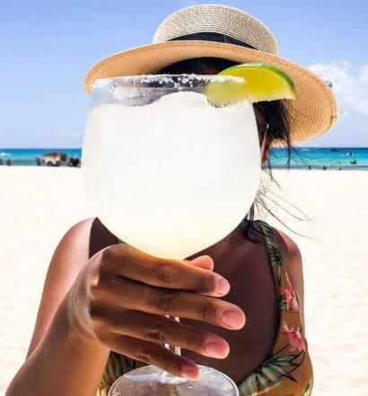 Margarita on Beach, featured image