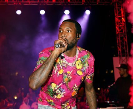 Meek Mill Performs at BACARDÍ LIV 305