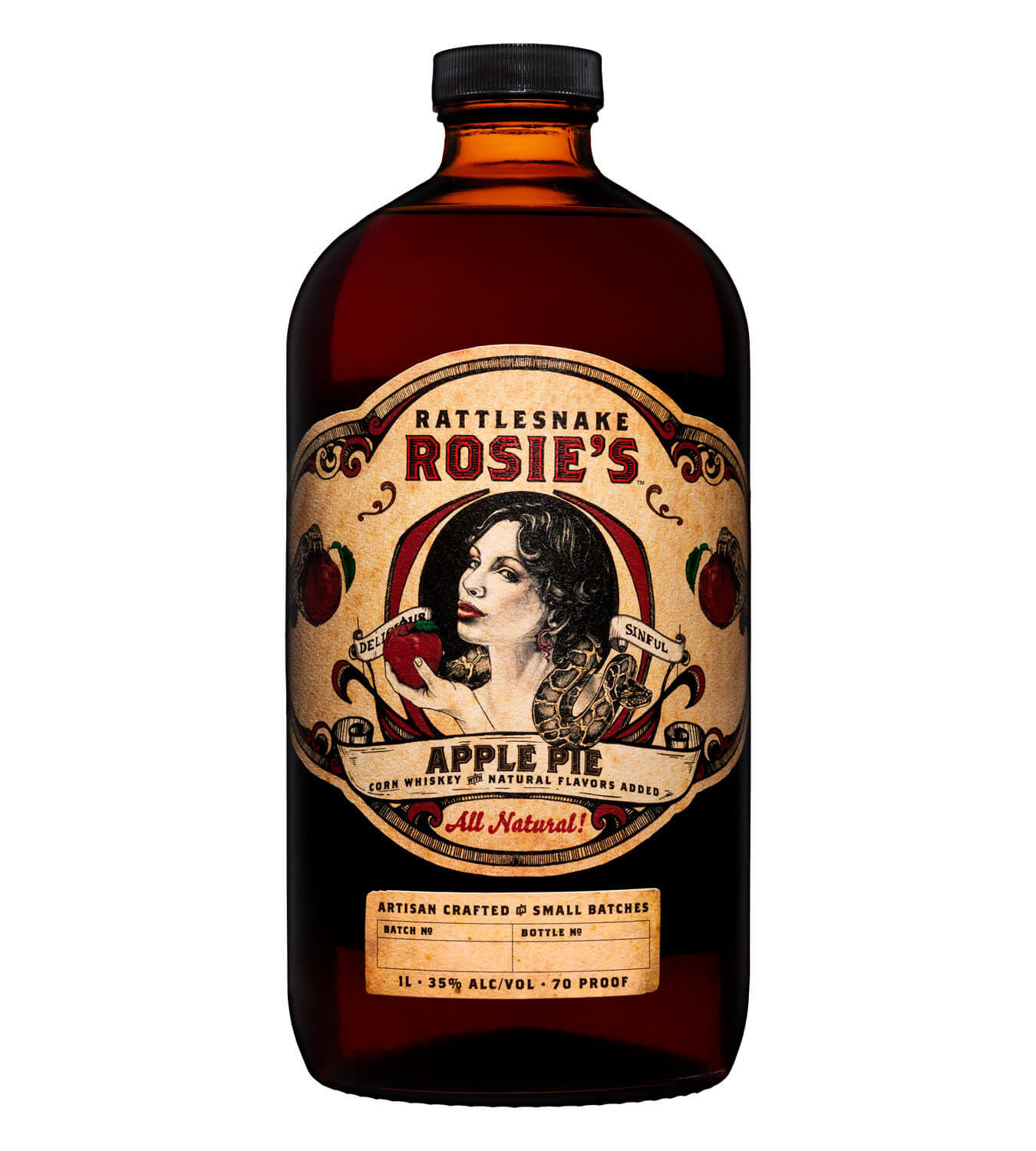 Rattlesnake Rosie's Apple Pie Whiskey