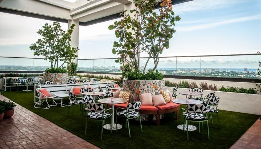 On Location: The Dalmar's Rooftop Bar, Sparrow in Fort Lauderdale
