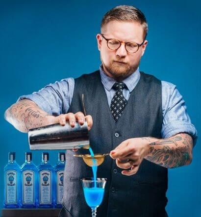 Houston Bartender Chris Morris Mixing Behind the Stick, featured image