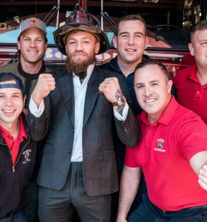 Conor and First Responders