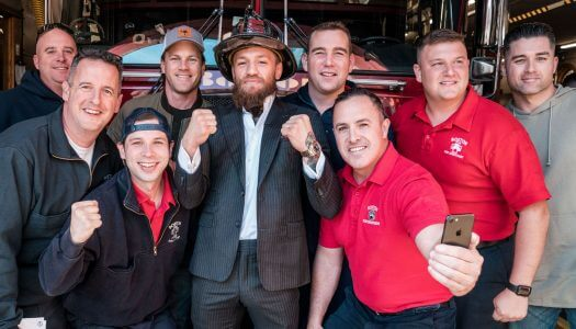 Conor McGregor and Proper No. Twelve Irish Whiskey donate $1 Million Dollars to First Responders