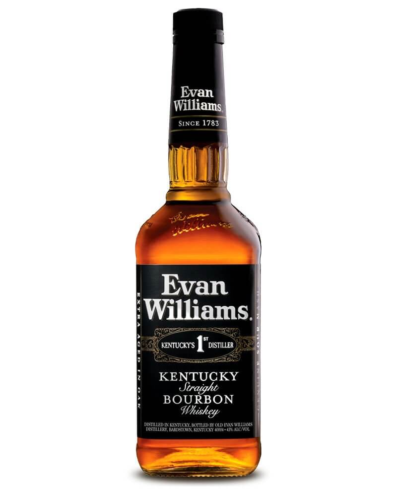 Evan Williams, bottle on white