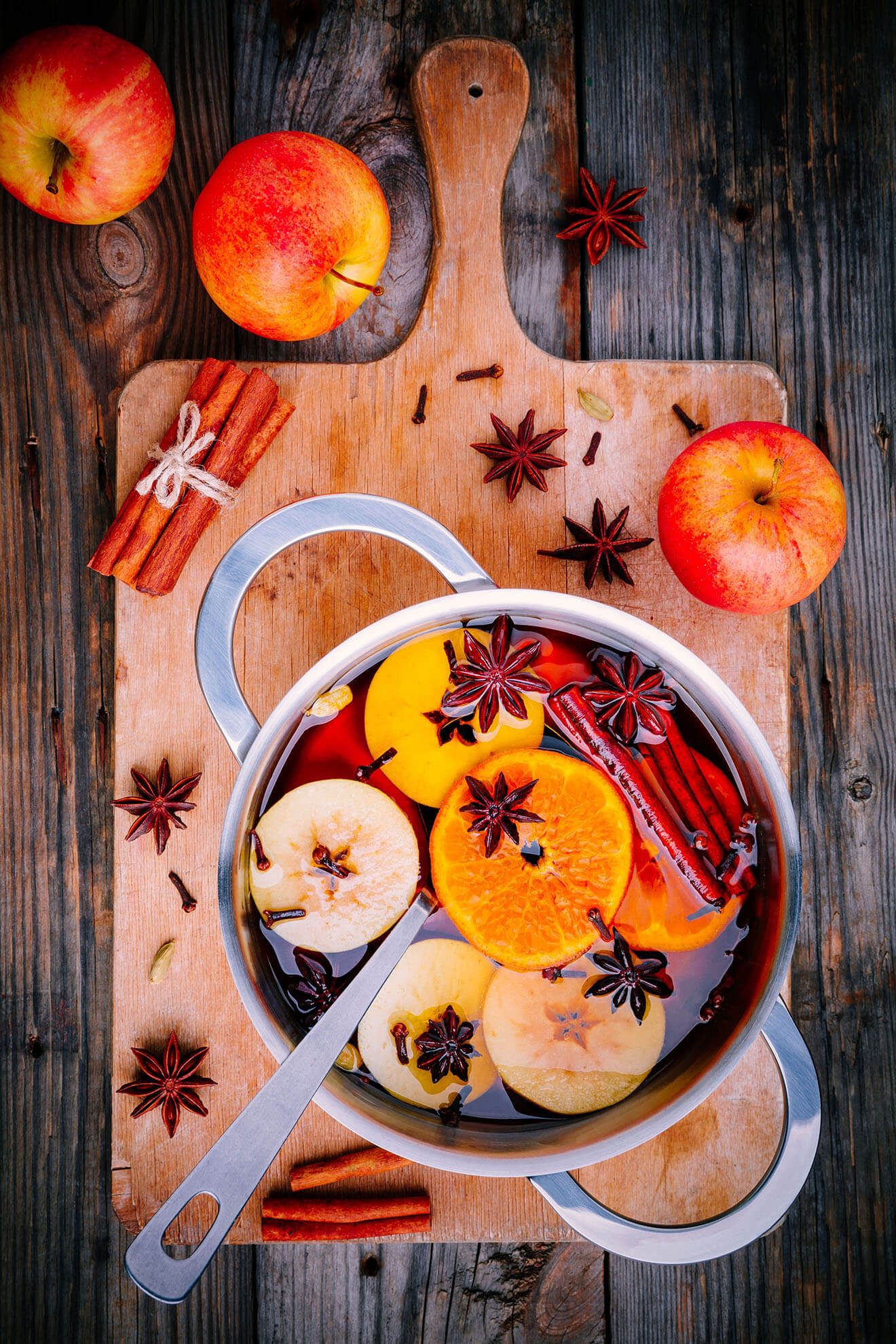 Trouble Mulled Cider